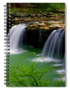 Falling Water Falls Spiral Notebook