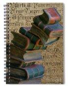 Falling Wisdom Spiral Notebook
