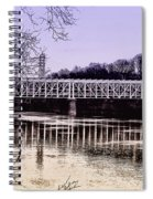 Falls Bridge Spiral Notebook
