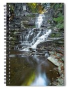 Falls Creek Gorge Trail Reflection Spiral Notebook