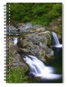 Falls Falls Spiral Notebook