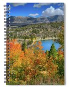 Fall's Finery At Rock Creek Lake Spiral Notebook