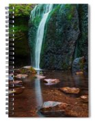 Falls In Bluff Country Spiral Notebook