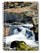 Falls In Fall Spiral Notebook