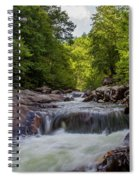 Falls In The Mountains Spiral Notebook