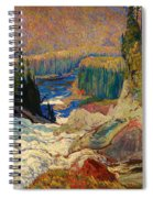 Falls - Montreal River Spiral Notebook