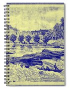 Falls Of The Schuylkill And Fort St Davids 1794 Spiral Notebook