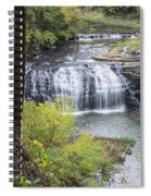 Falls Through The Trees Spiral Notebook