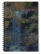 Falls Woodcut Spiral Notebook