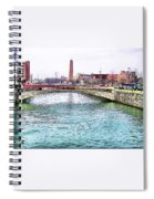 Fallswalk And Shot Tower Spiral Notebook