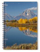 Falltime At Oxbow Bend Spiral Notebook