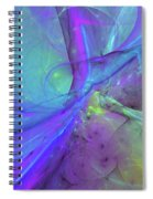 False Dimension Of Heaven Spiral Notebook