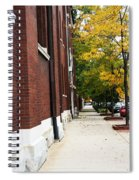 Familair Streets To An Old Women Spiral Notebook