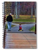 Family - A Father's Love Spiral Notebook