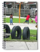 Family At Play II Spiral Notebook