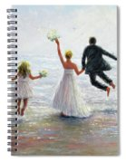 Family Beach Wedding Spiral Notebook