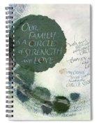 Family Circle Spiral Notebook