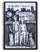 Family Dog Spiral Notebook