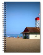 Family Fun At The Beach Spiral Notebook