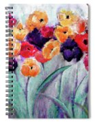 Family Gathering Painting By Lisa Kaiser Spiral Notebook