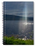 Family Of Light Spiral Notebook