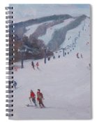 Family Ski Spiral Notebook