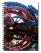 Famous Liberty Bike Copper Ny Spiral Notebook