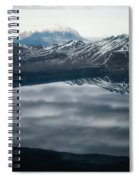 Famous Mountain Askja In Iceland Spiral Notebook