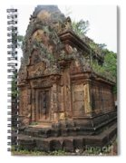 Famous Temple Banteay Srei Cambodia Asia  Spiral Notebook