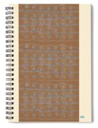 Fancy Brown Bag Spiral Notebook