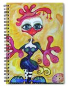 Fancy Chick Spiral Notebook