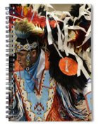 Pow Wow Fancy Dancer 1 Spiral Notebook