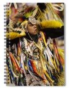 Pow Wow Fancy Dancer 2 Spiral Notebook