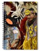 Pow Wow Fancy Dancers 7 Spiral Notebook