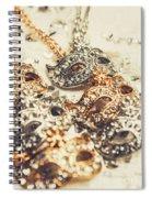 Fancy Dress Timepieces Spiral Notebook