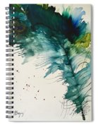 Fancy Feather Spiral Notebook