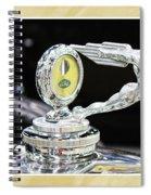 Fancy Framed Hood Ornament Spiral Notebook