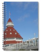 Fancy Hotel In Southern California Spiral Notebook