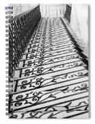 Fancy Shadows Spiral Notebook