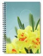 Fancy Spring Narcissus Garden  Spiral Notebook