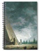 Fantaisie Egyptienne Spiral Notebook
