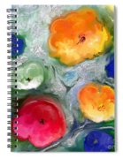 Fantaisie Florale Spiral Notebook