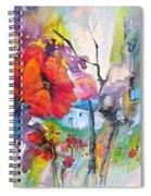 Fantaquarelle 01 Spiral Notebook