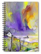 Fantaquarelle 03 Spiral Notebook