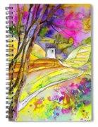 Fantaquarelle 04 Spiral Notebook