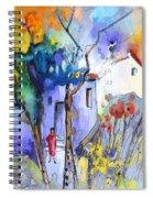 Fantaquarelle 05 Spiral Notebook