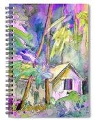 Fantaquarelle 08 Spiral Notebook