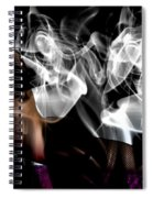 Fantasies In Smoke I Spiral Notebook