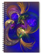 Fantasy Ball Spiral Notebook
