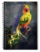 Fantasy Bird Spiral Notebook